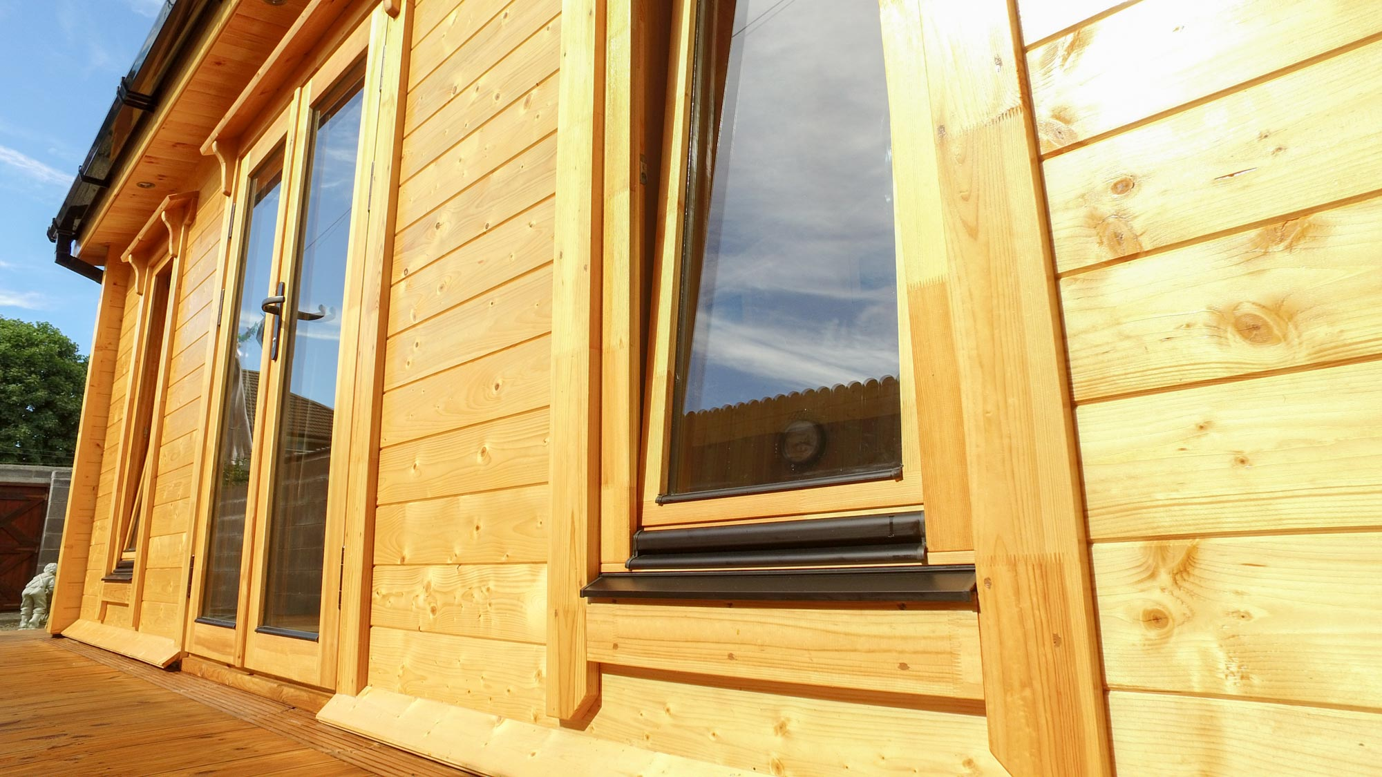 Extension Log Cabin