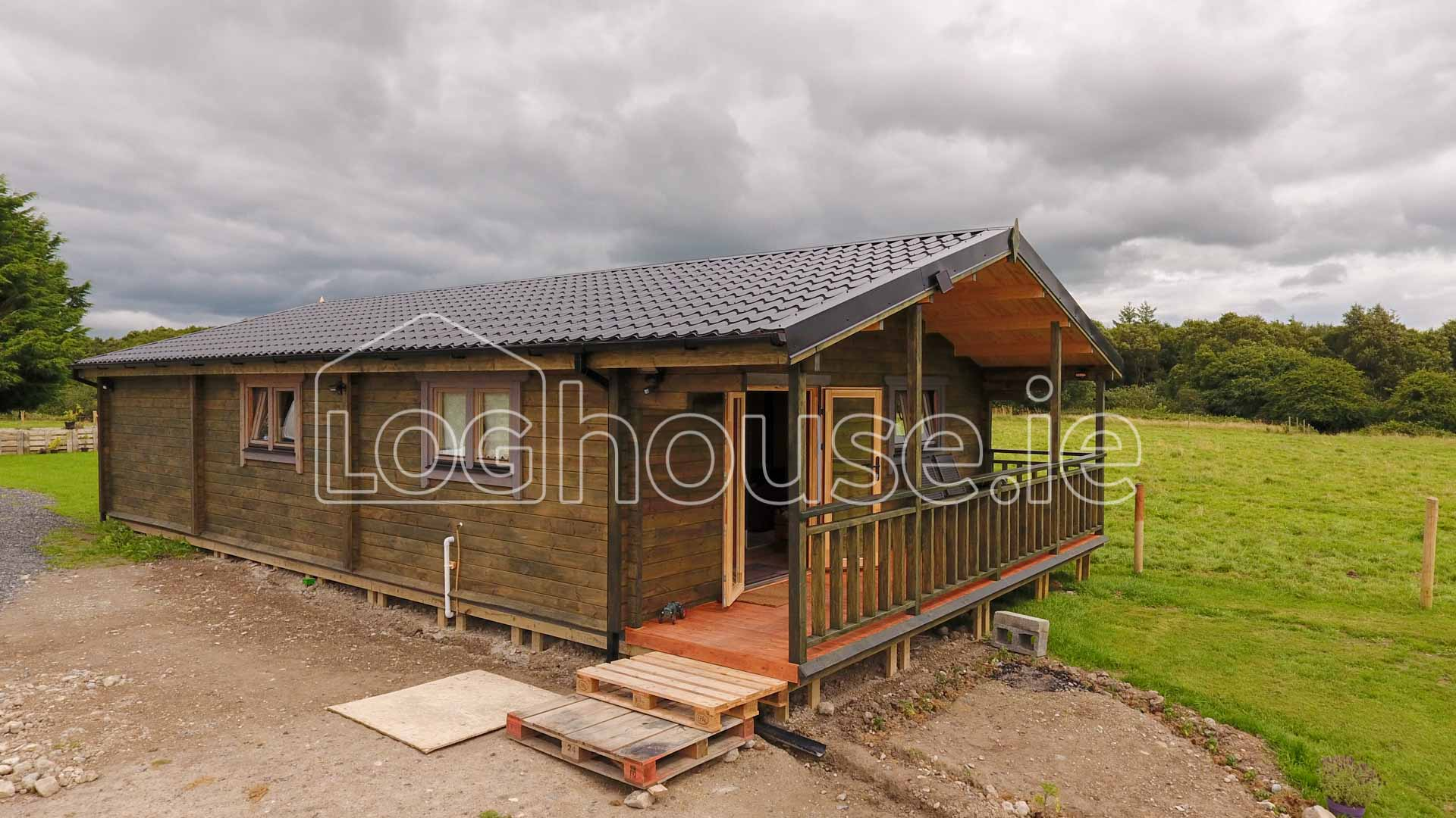 3 Bed Type A Log Cabin