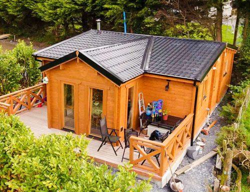 Custom 2 Bed Log House