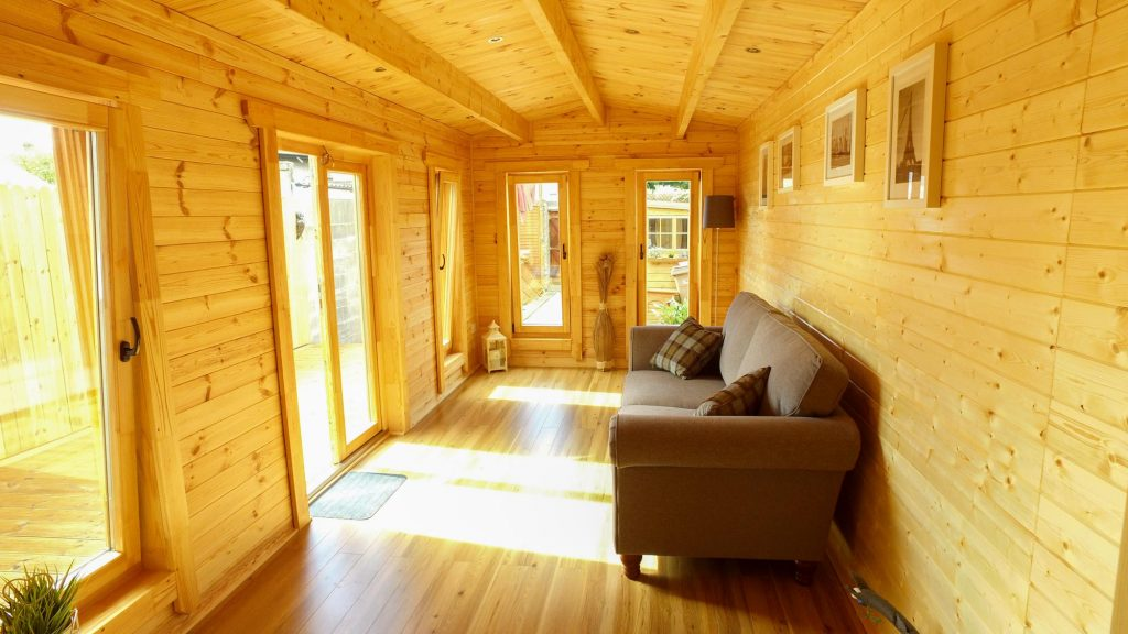 Extension Log Cabin Loghouse Ie