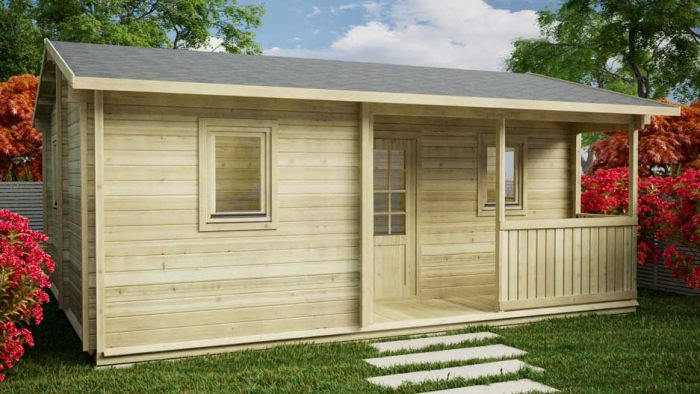 BUDGET-ONE-BED-A Loghouse Log Cabin