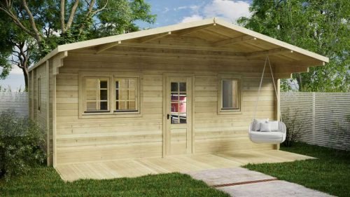 Budget-Two-Bed-B Loghouse Log Cabin