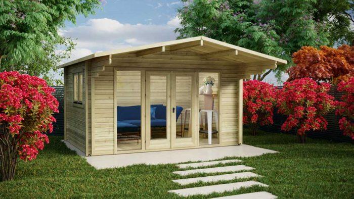 Loghouse - Cork Log Cabin Model