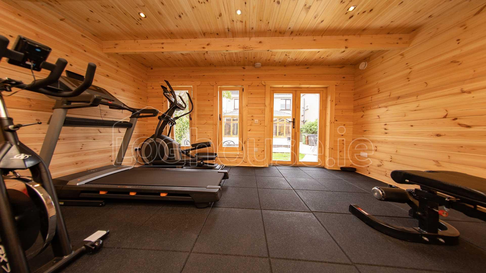 Clontarf-Contemporary log cabin-5m-x-4m-8