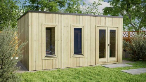 Clontarf-contemporary-log cabins-5x4m