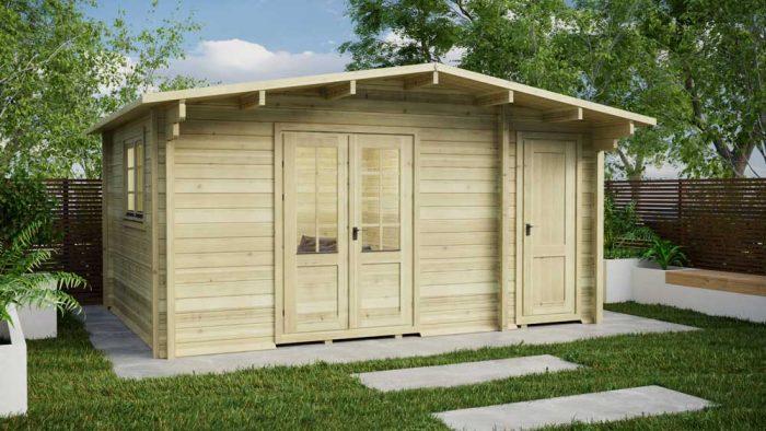 Loghouse - Leitrim Log Cabin Model
