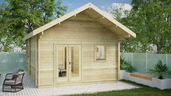Loft-cabin-A Loghouse Log Cabins