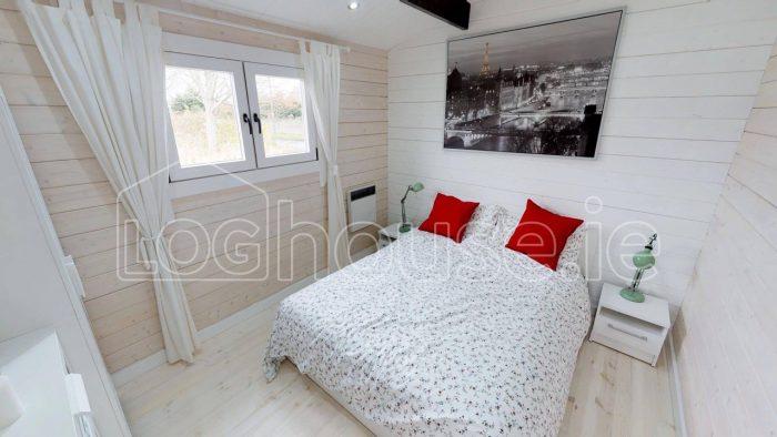 2 bedroom type c log cabin bedroom
