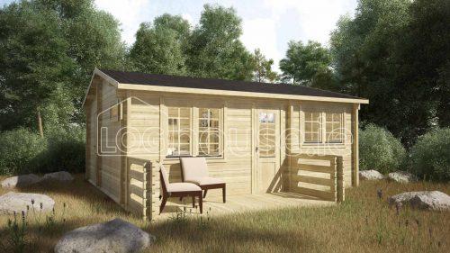 Clontarf Log Cabin Exterior