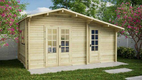 Loghouse - Dundrum Log Cabin Model