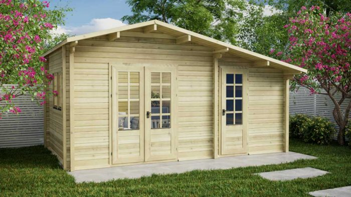 Loghouse - Dundrum Log Cabin Model