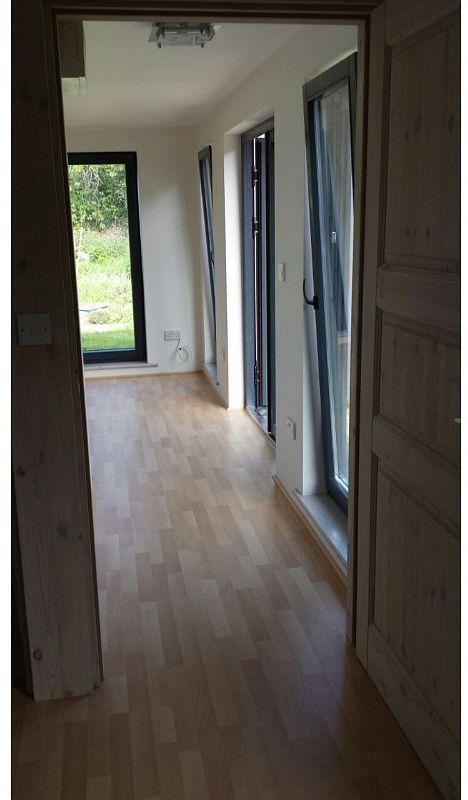 Garden Room Log Cabin Hallway