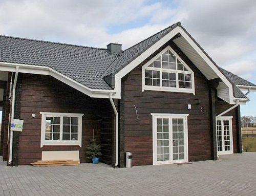 GLULAM LOG HOUSES (NEW FOR 2018)