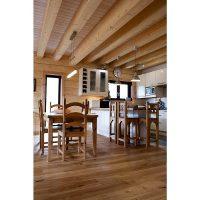 Log house laminated timber house 15