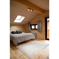 Log house laminated timber house 14