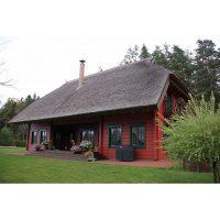 Log house laminated timber house 11