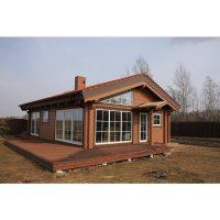 Log house laminated timber house 7