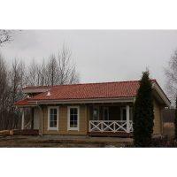 Log house laminated timber house 6