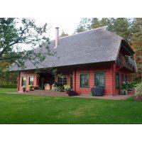 Log house laminated timber house 5