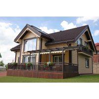 Log house laminated timber house 4