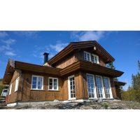 Log house laminated timber house 1