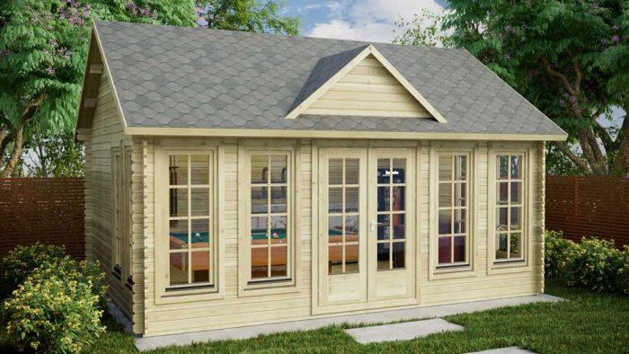 Loghouse - Portobello Log Cabin Model