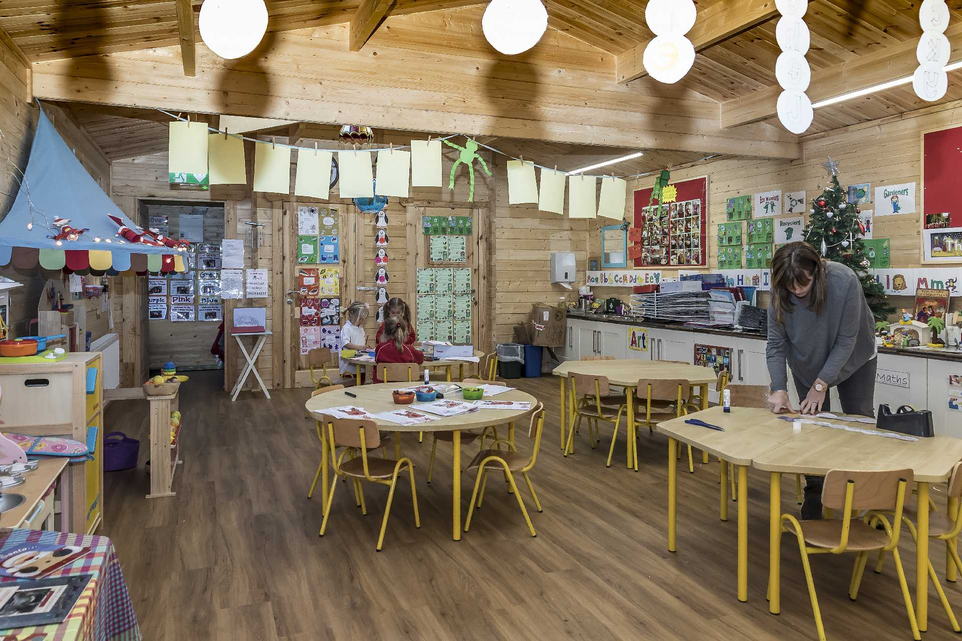 Pre-school Log Cabin Inside 3