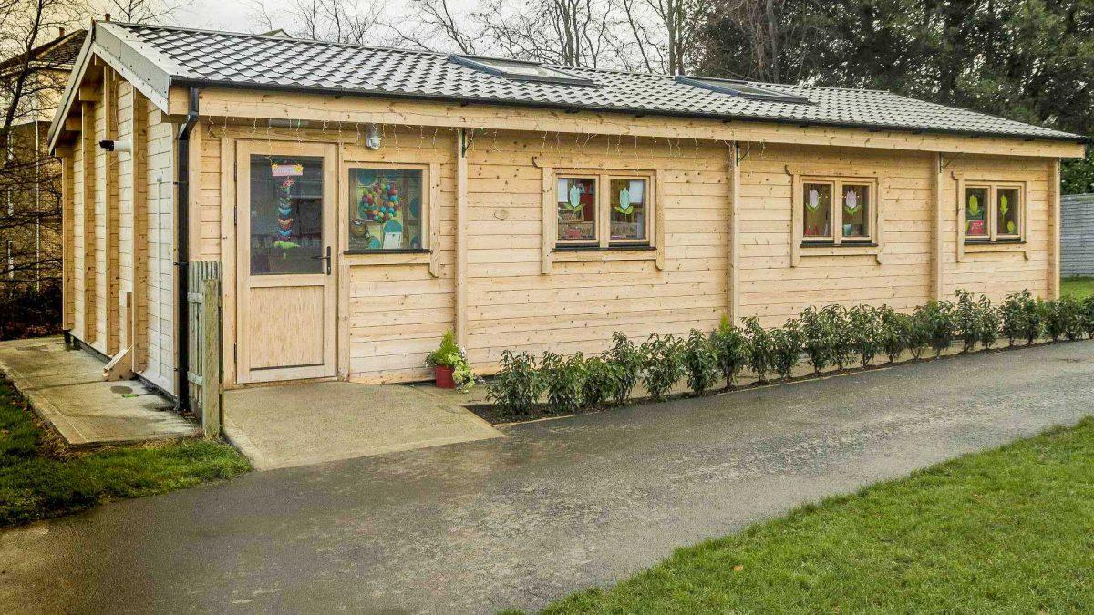 Pre-school Log Cabin Thum