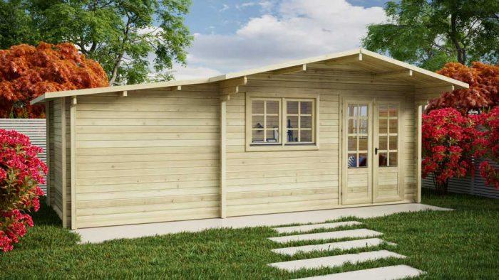 Loghouse - Rathmines Log Cabin Model