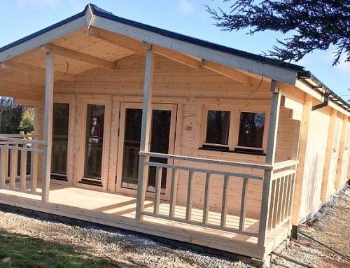 RESIDENTIAL AND GARDEN LOG CABINS (Aug 2015)