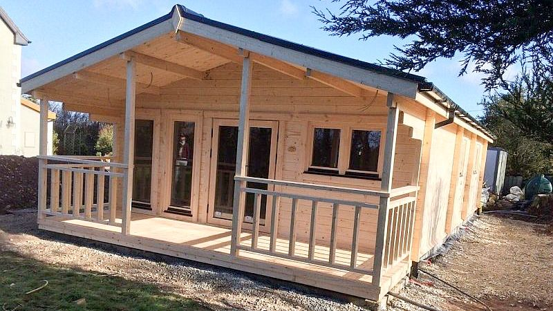 Residential and Garden Cabins Three Bed 2