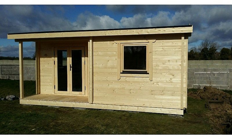 Residential and Garden Cabins One Bed Type C