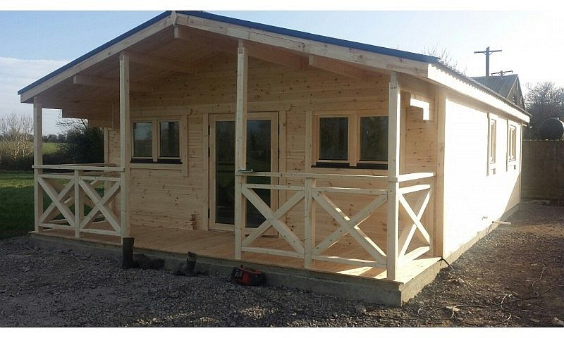 Residential and Garden Cabins Two Bed Type C