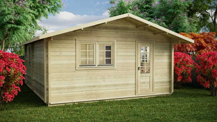 Loghouse - Sandyford Log Cabin Model