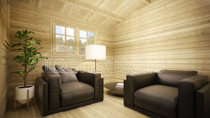 Laragh Log Cabin Interior