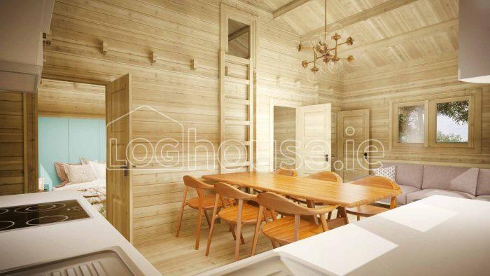 Loft Cabin B Interior