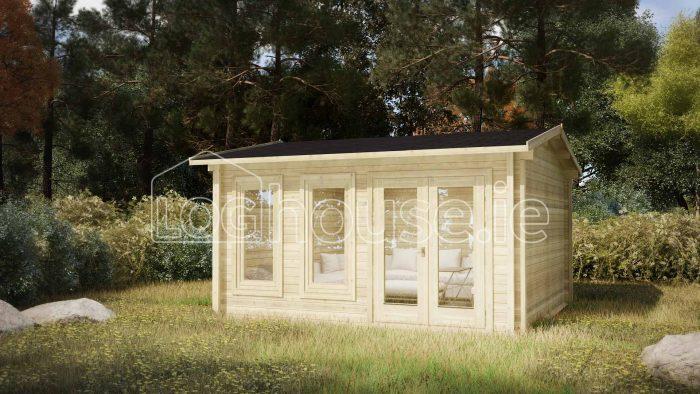 Newcastle Exterior Log Cabin
