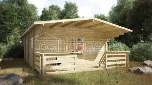 Palmerstown Log Cabin Exterior