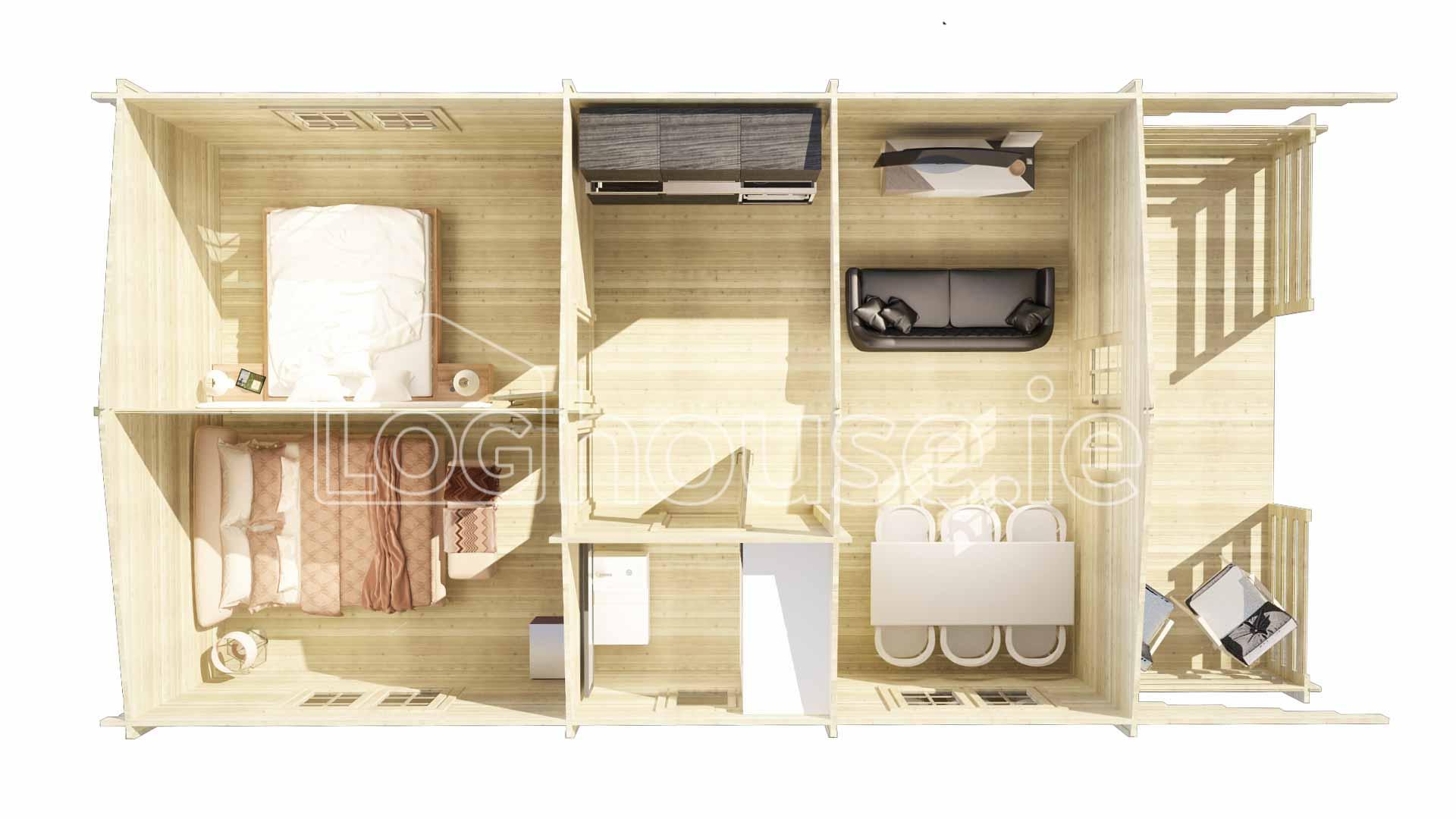 Palmerstown Log Cabin Plan