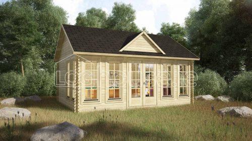 Portobello Log Cabin Exterior