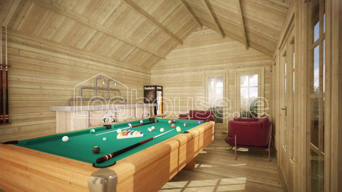 Portobello Log Cabin Interior