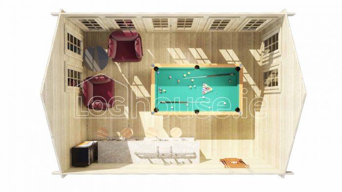 Portobello Log Cabin Plan