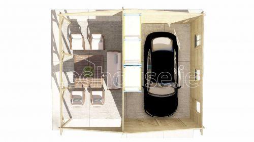 Saggart Garage Plan