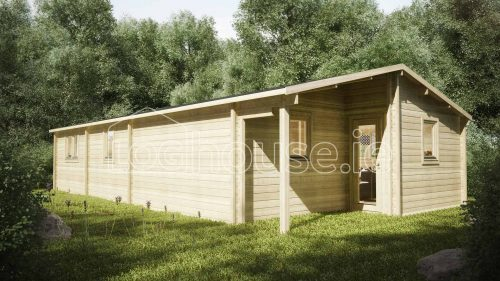 Three Bed Type B Log cabin Exterior