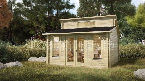 Terenure Log Cabin Exterior