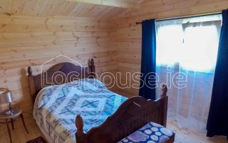Three Bed Type A Log Cabin Bedroom