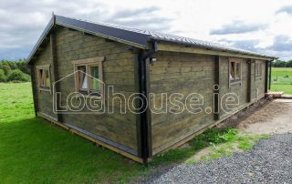 Three Bed Type A Log Cabin Outside 1