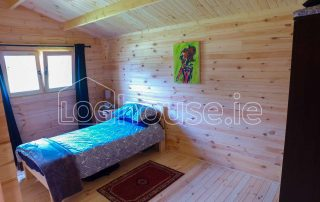 Three Bed Type A Log Cabin Main Bedroom