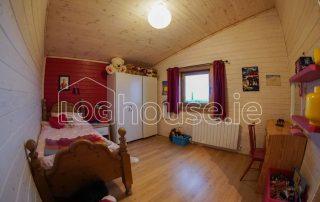 Four Bed Log Cabin Bedroom