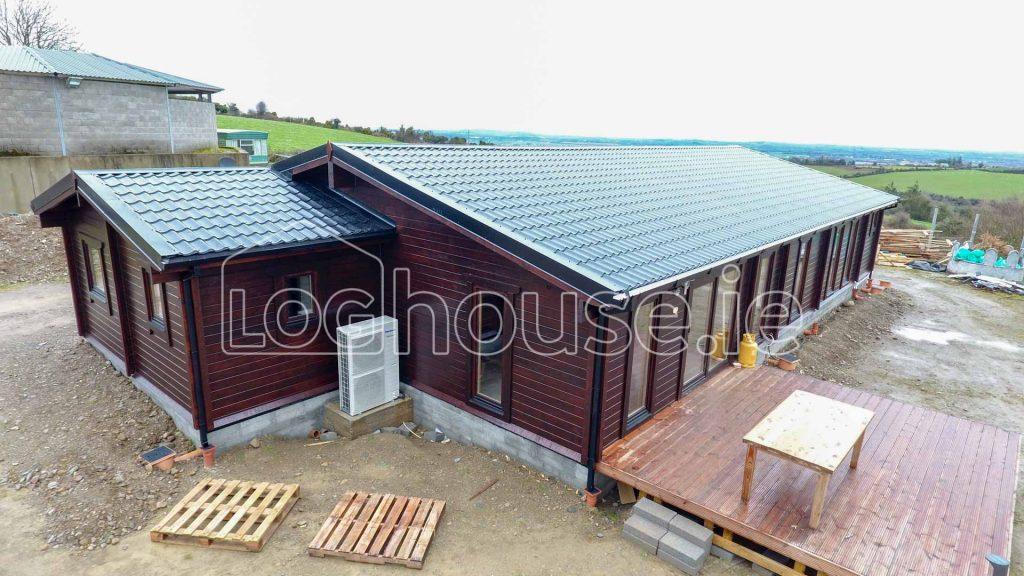 4 Bed Log Cabin V2 Loghouse Log Cabins Ireland